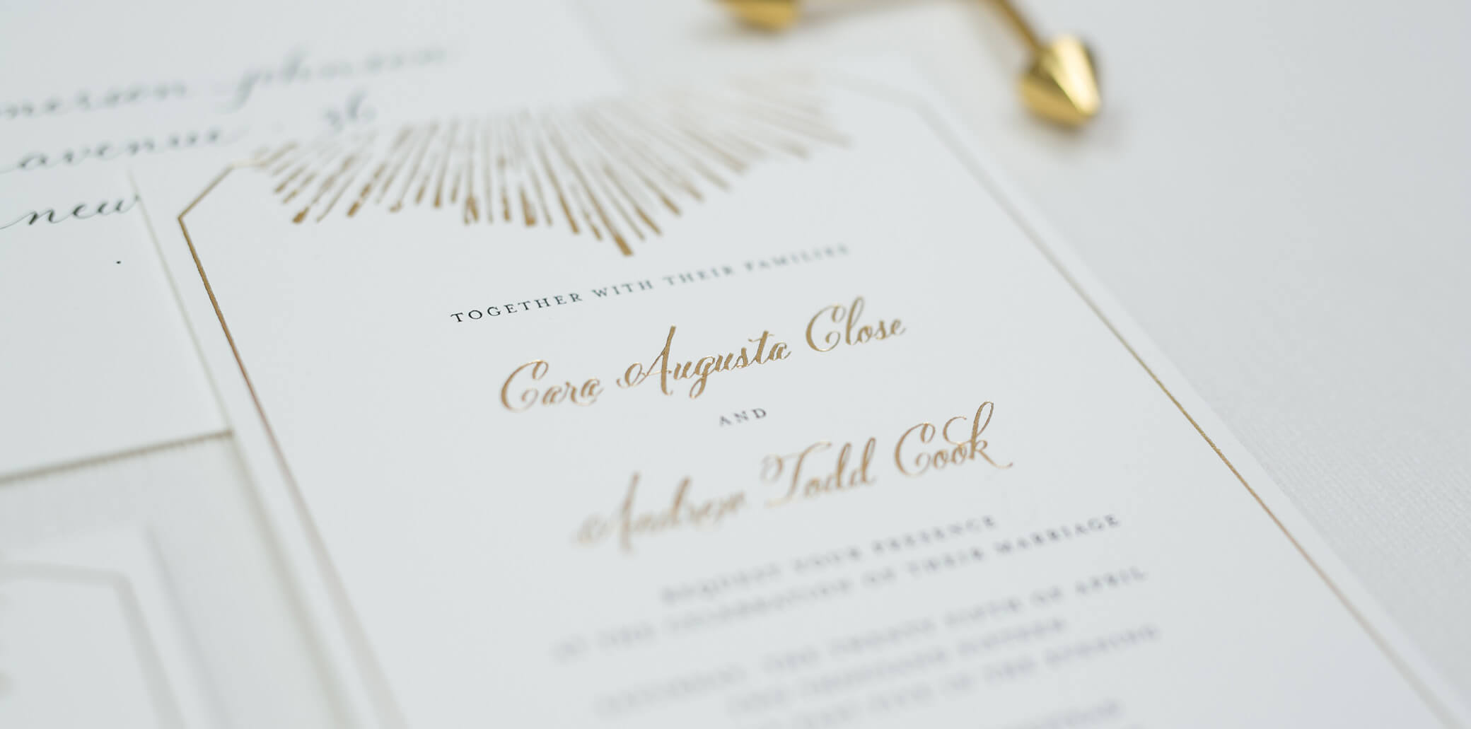 Olive paper custom invitation design studio stopboris